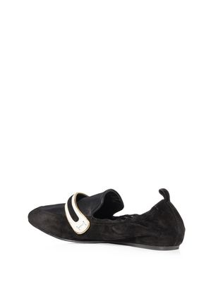 LANVIN SUPPLE DUAL MATERIAL LOAFER Loafers D d