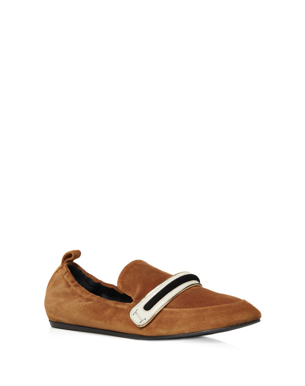 SUPPLE DUAL MATERIAL LOAFER - Lanvin