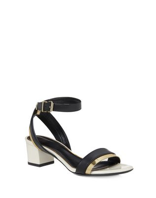 LANVIN Sandals D SANDAL WITH CHAIN STRAP F