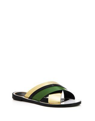 LANVIN Sandals D MIRROR CROSSOVER SANDAL F