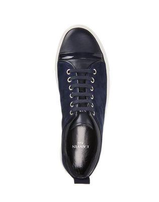 LANVIN GOATSKIN LEATHER SNEAKER Sneakers D r