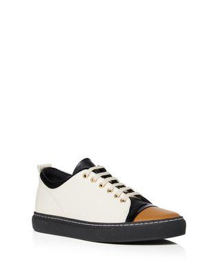 LANVIN Sneakers D NAPPA LEATHER SNEAKER F