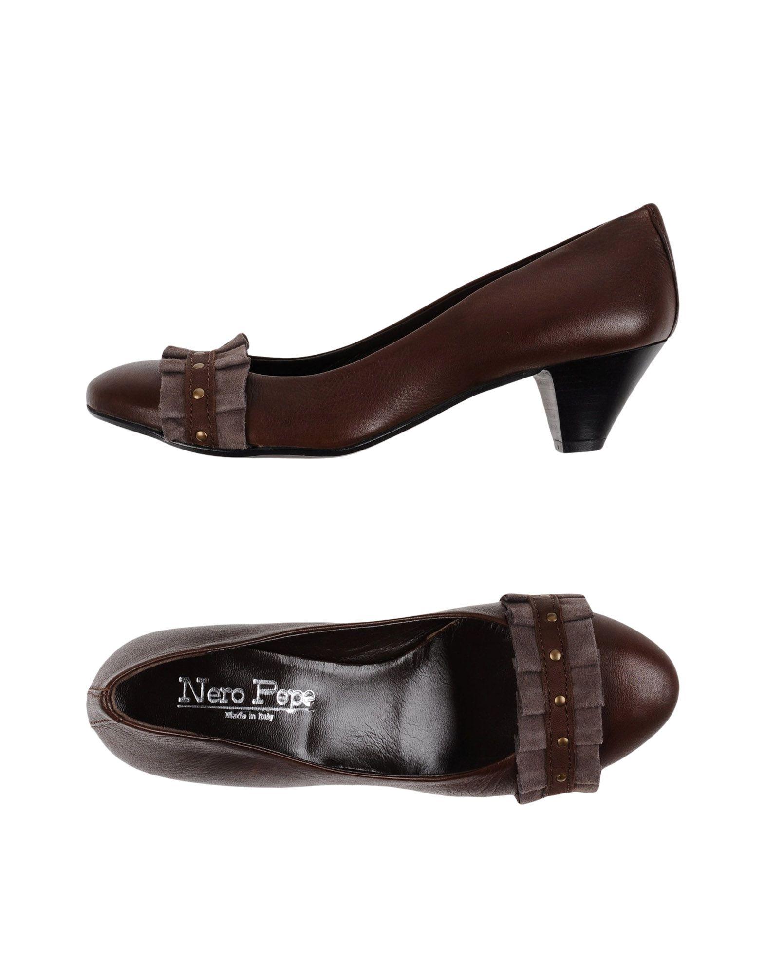 NERO PEPE SHOES Туфли цены онлайн