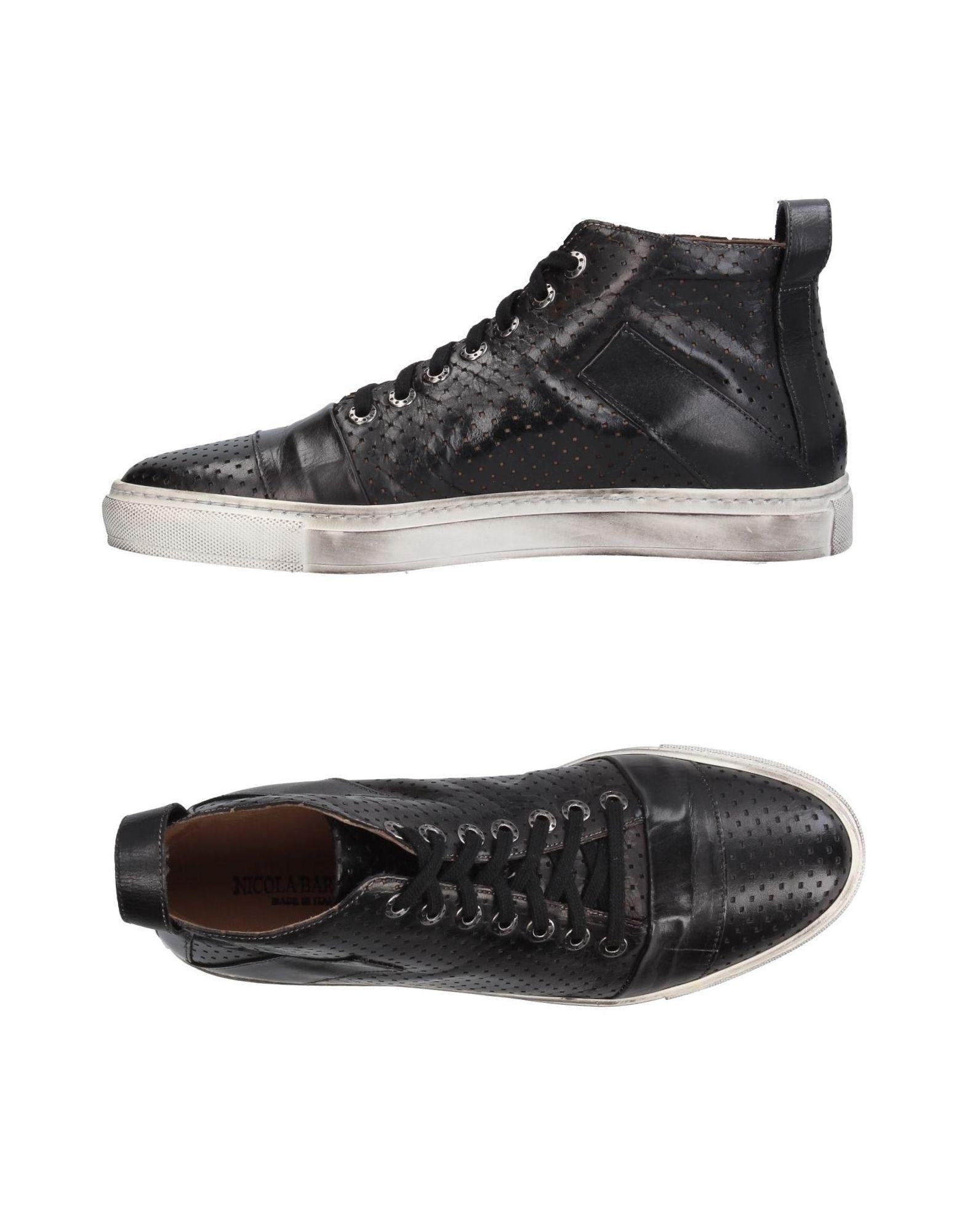 NICOLA BARBATO Высокие кеды и кроссовки цены онлайн