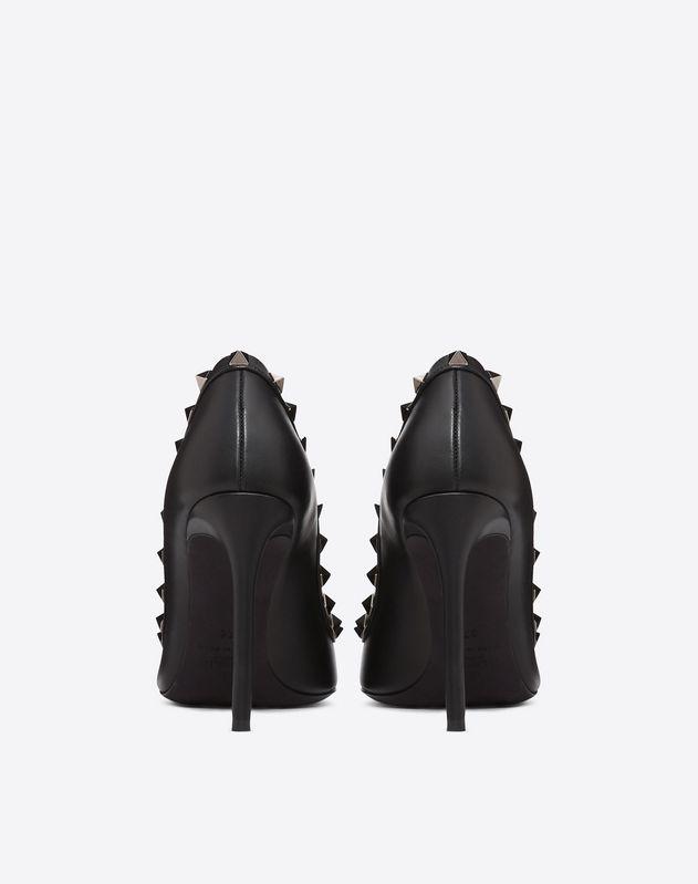 Rockstud Noir Pump