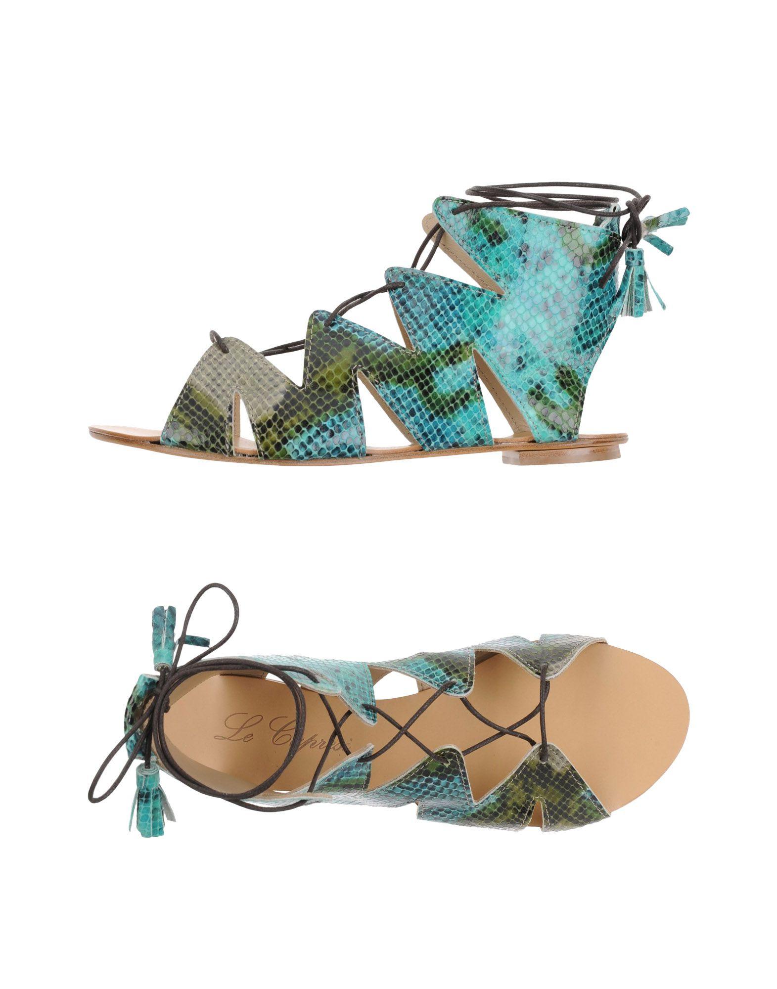 LE CAPRESI Sandals in Turquoise