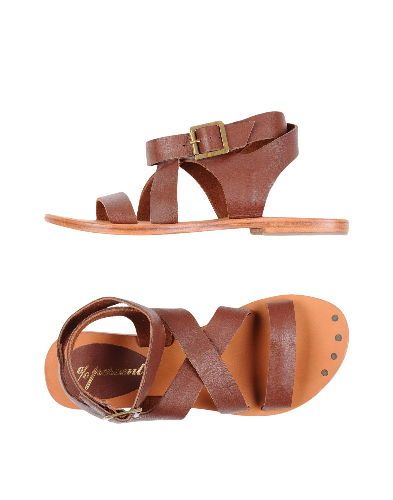 PERCENT %Percent Sandals in Cocoa