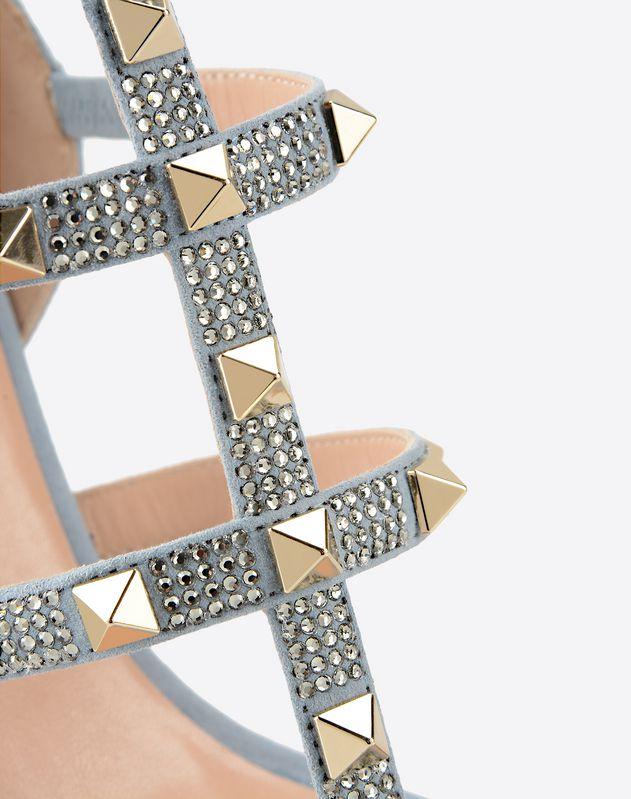Sandalo Rockstud con strass