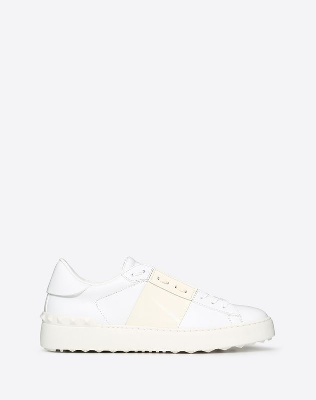 Patent Leather Open Sneaker