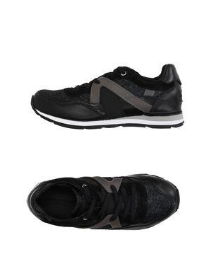 DOLCE & GABBANA Jungen 9-16 jahre Low Sneakers Tennisschuhe Farbe Schwarz Größe 19