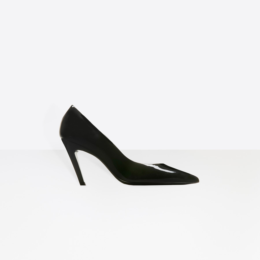 BALENCIAGA Slash Heel Pumps Slash Shoes D f