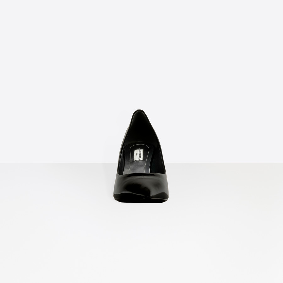 BALENCIAGA Slash Heel Pumps Slash Shoes D i