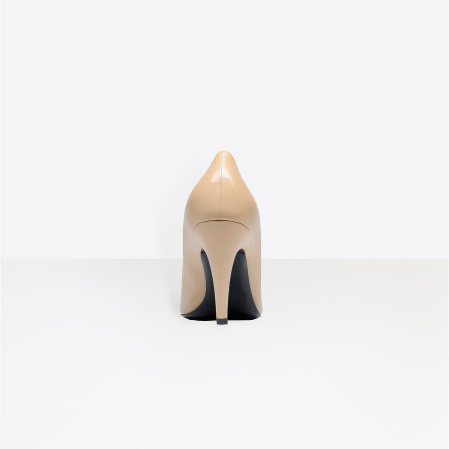 BALENCIAGA Slash Heel Pumps Slash Shoes D d