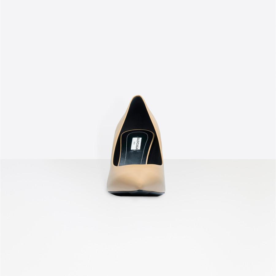 BALENCIAGA Slash Heel Pumps Slash Shoes D i