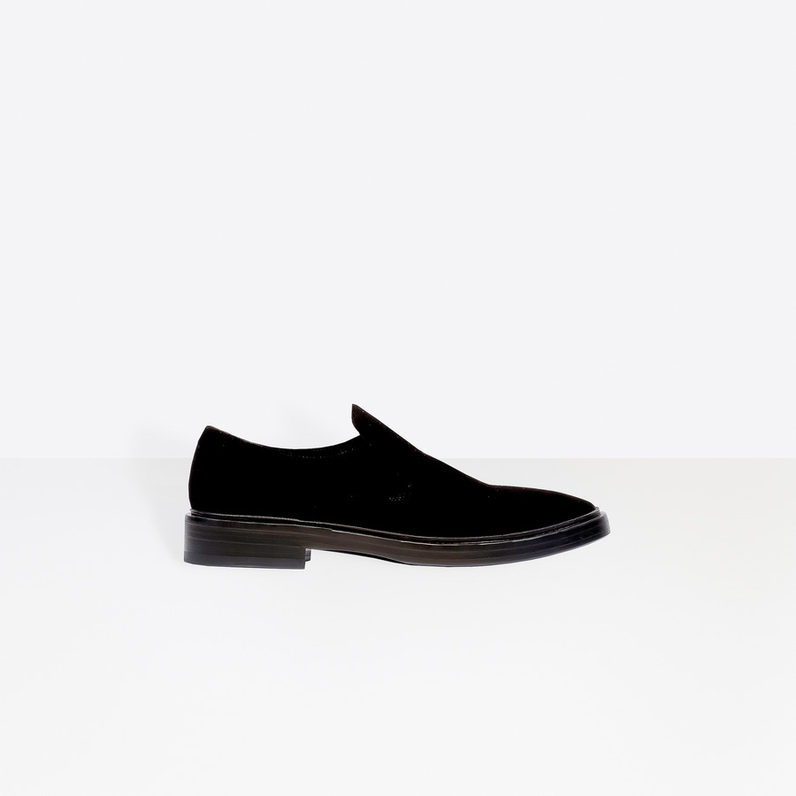 BALENCIAGA Velvet Standard Slippers Other Shoes Man f
