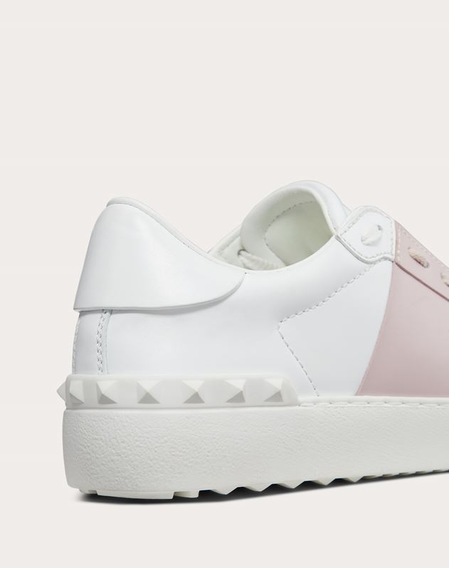 Open Sneaker in Calfskin Leather