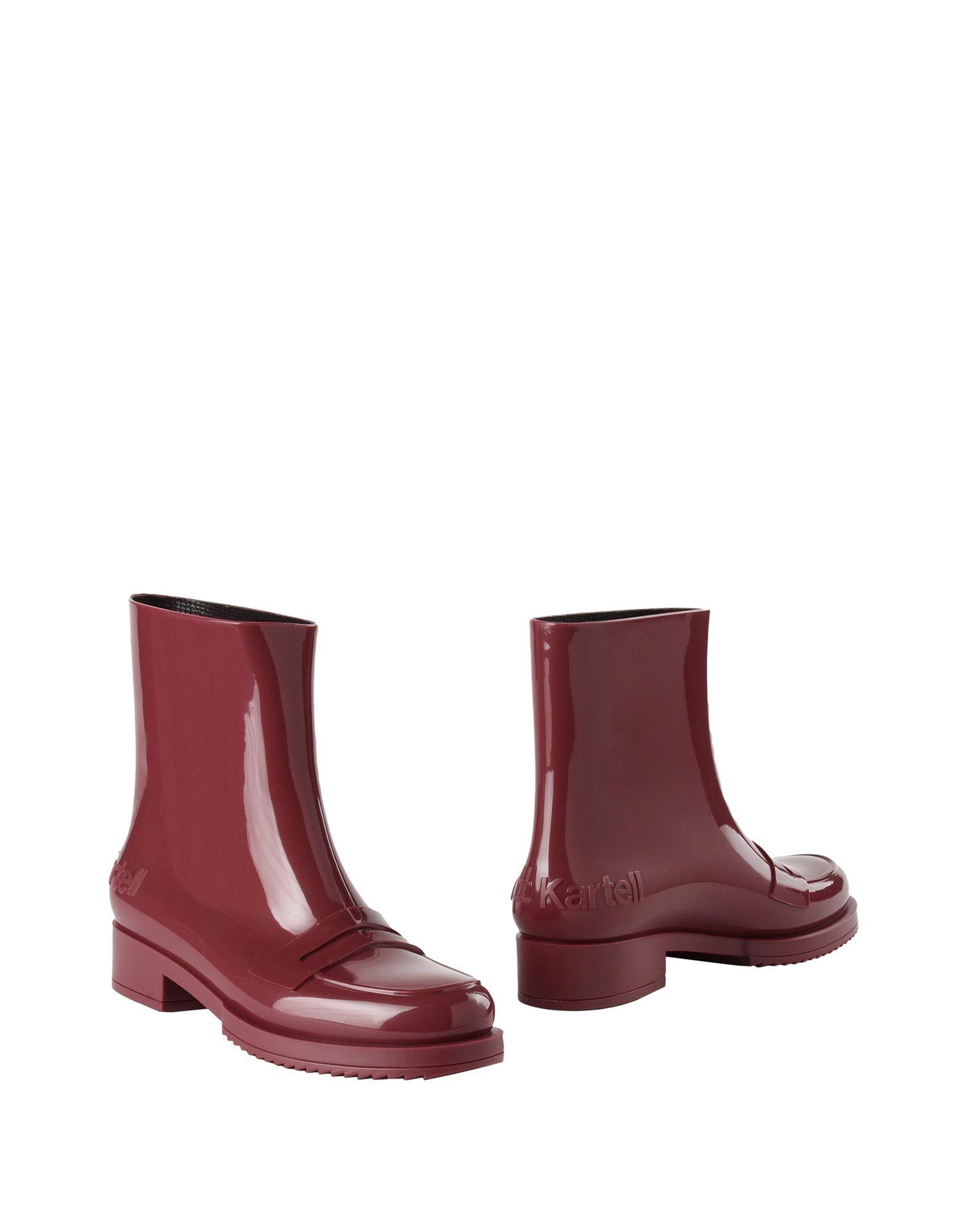 цены N°21 # KARTELL Полусапоги и высокие ботинки