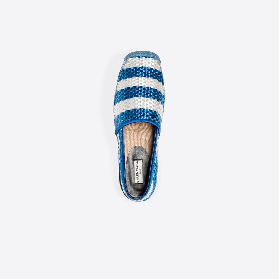 BALENCIAGA Bazar Espadrille Loafer Multimaterial Sneakers D e