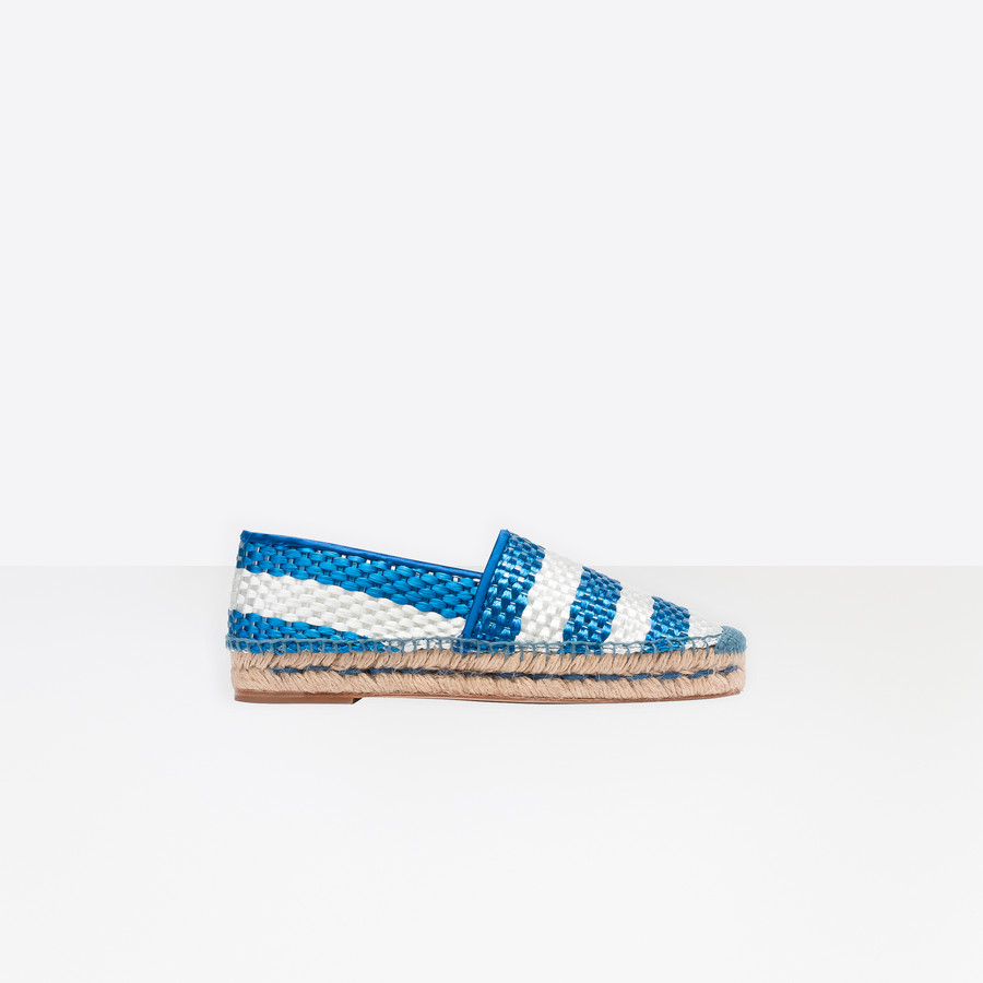 BALENCIAGA Bazar Espadrille Loafer Multimaterial Sneakers D f