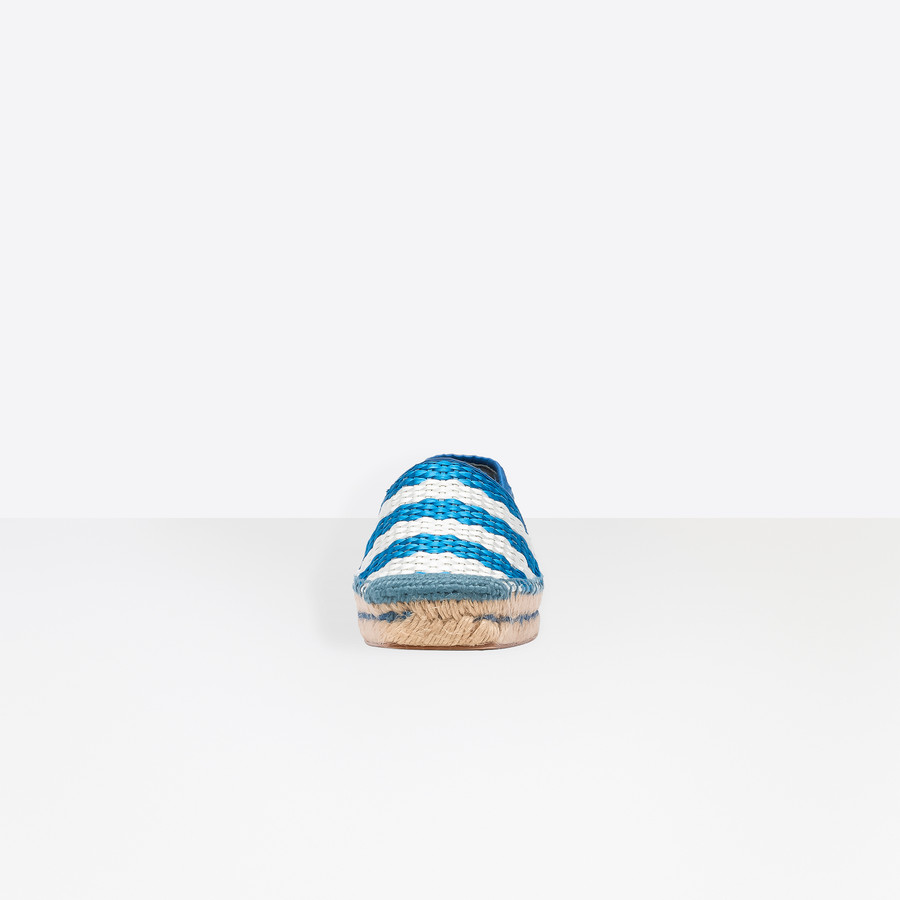 BALENCIAGA Bazar Espadrille Loafer Multimaterial Sneakers D i