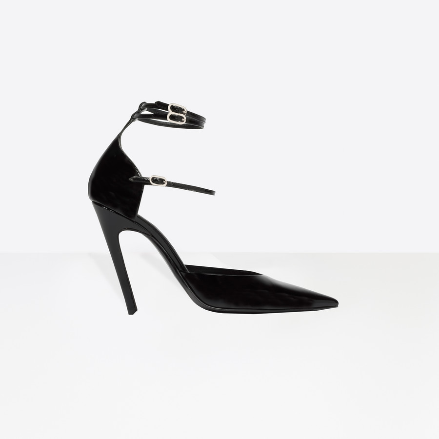 BALENCIAGA Slash Heel Pump D'orsay Slash Shoes D f