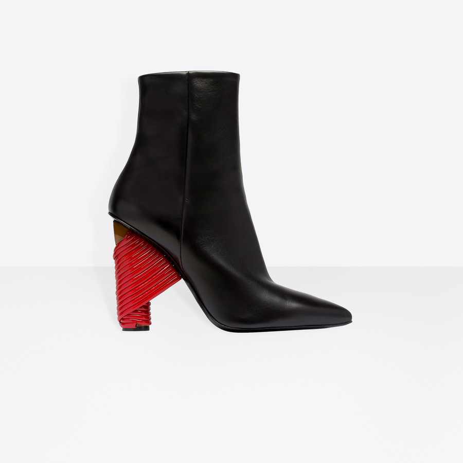 BALENCIAGA Bistrot Booties Bistrot Shoes Woman f
