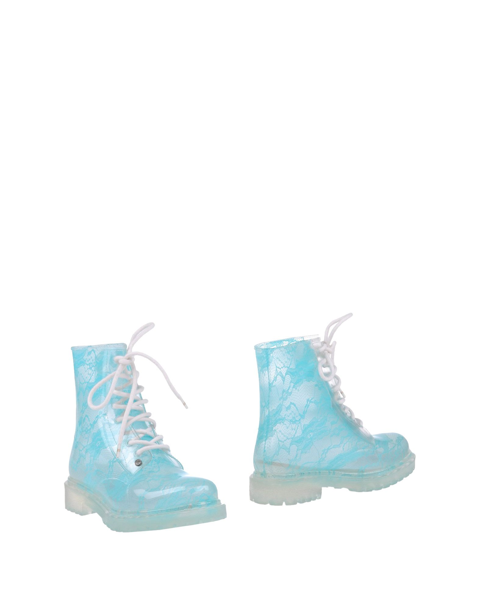 G SIX WORKSHOP Ankle Boots in Turquoise