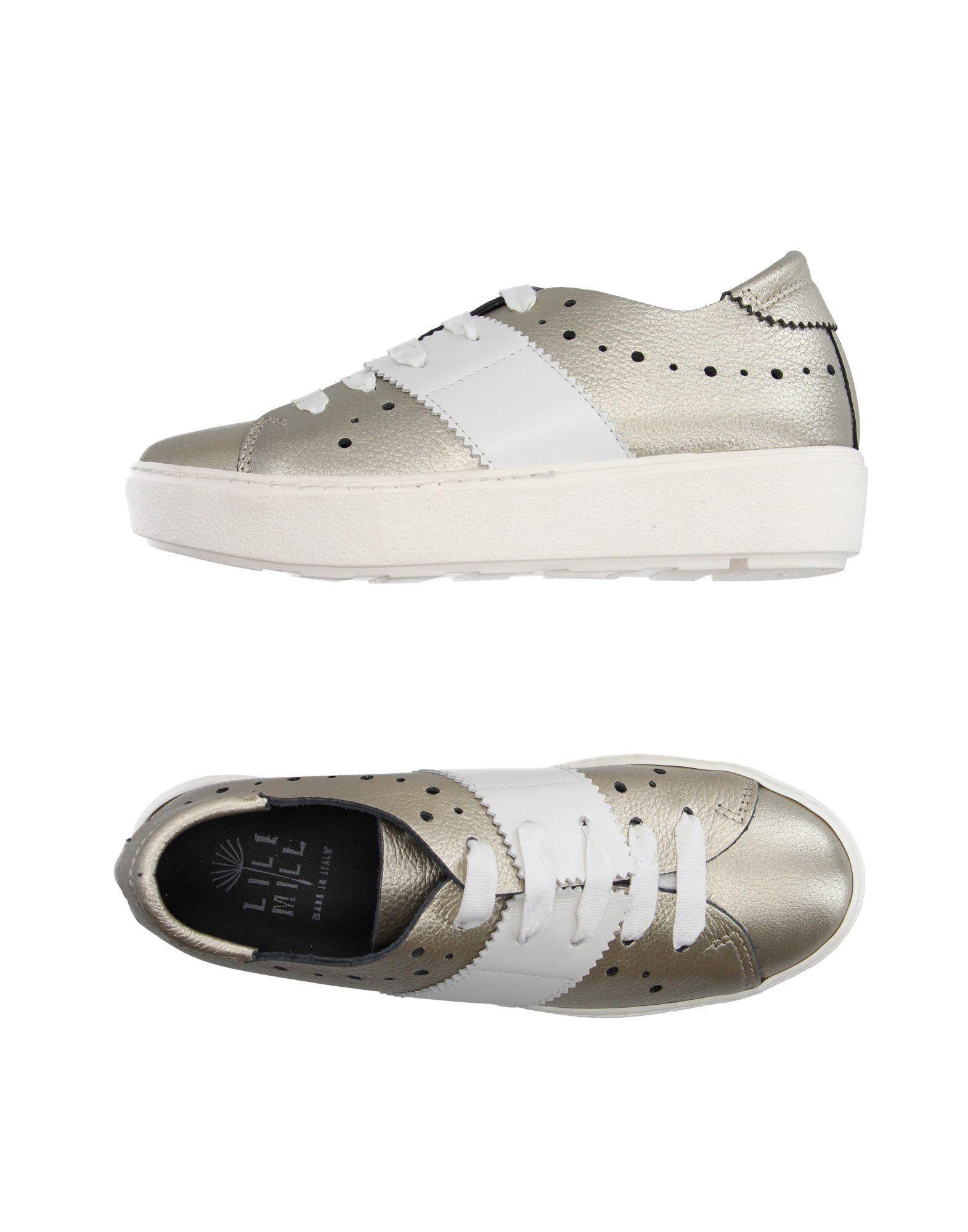 LILIMILL Низкие кеды и кроссовки lara hampton низкие кеды и кроссовки