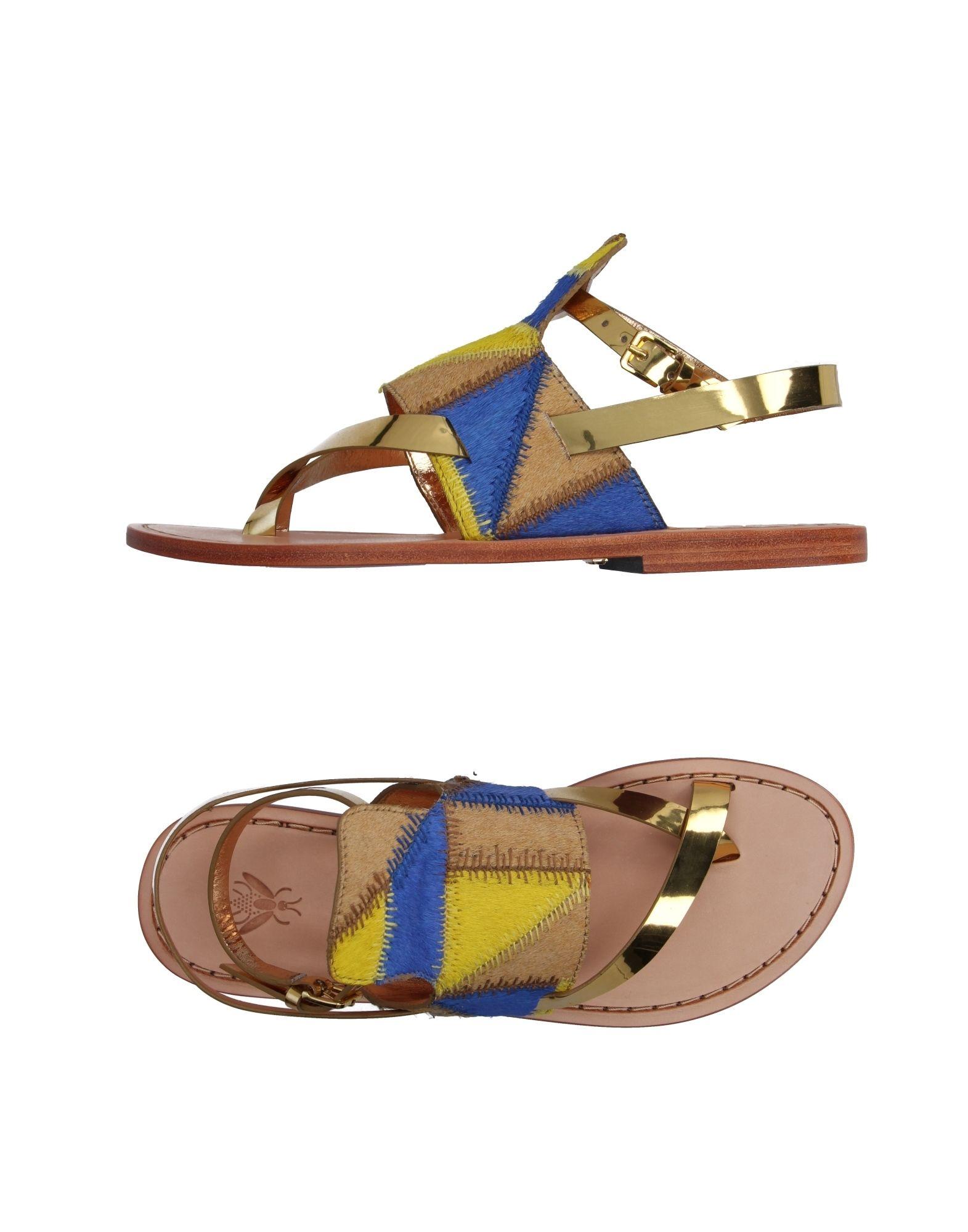 SANCHITA Flip Flops in Blue