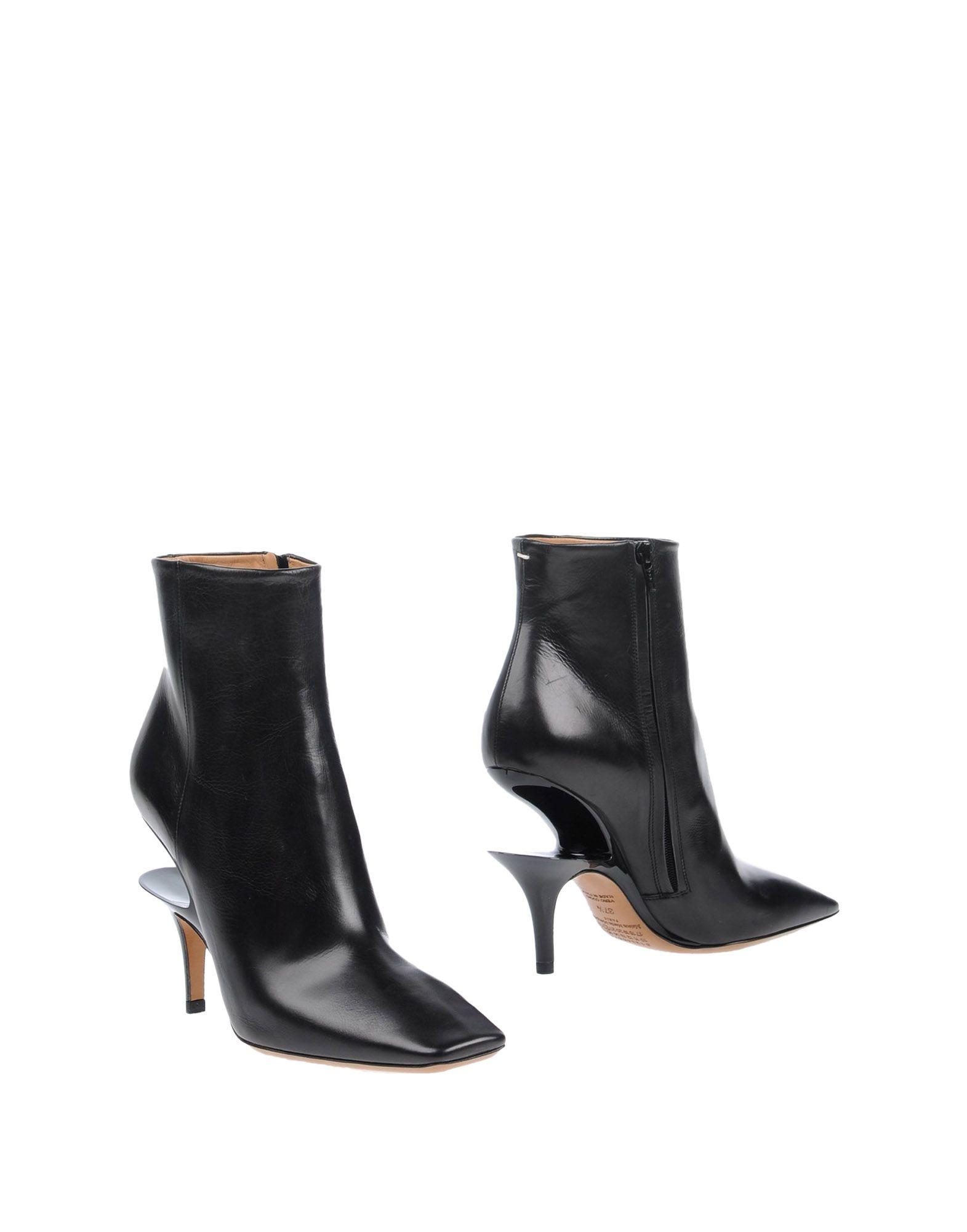 купить MAISON MARGIELA Полусапоги и высокие ботинки дешево
