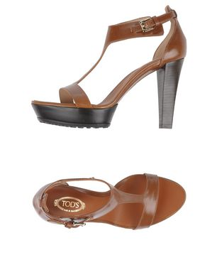 TOD´S Damen Sandale Farbe Braun Größe 5