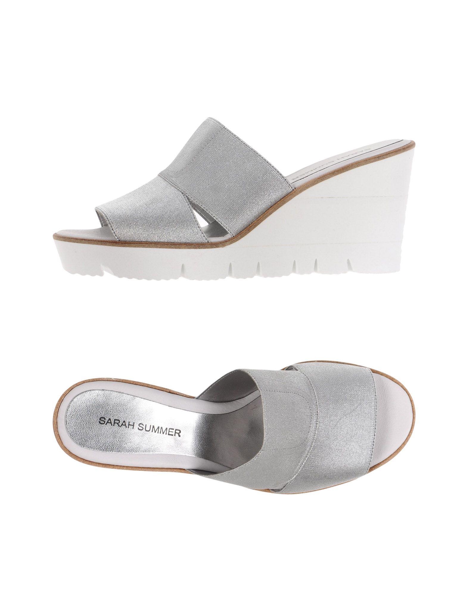 SARAH SUMMER Sandals in Silver