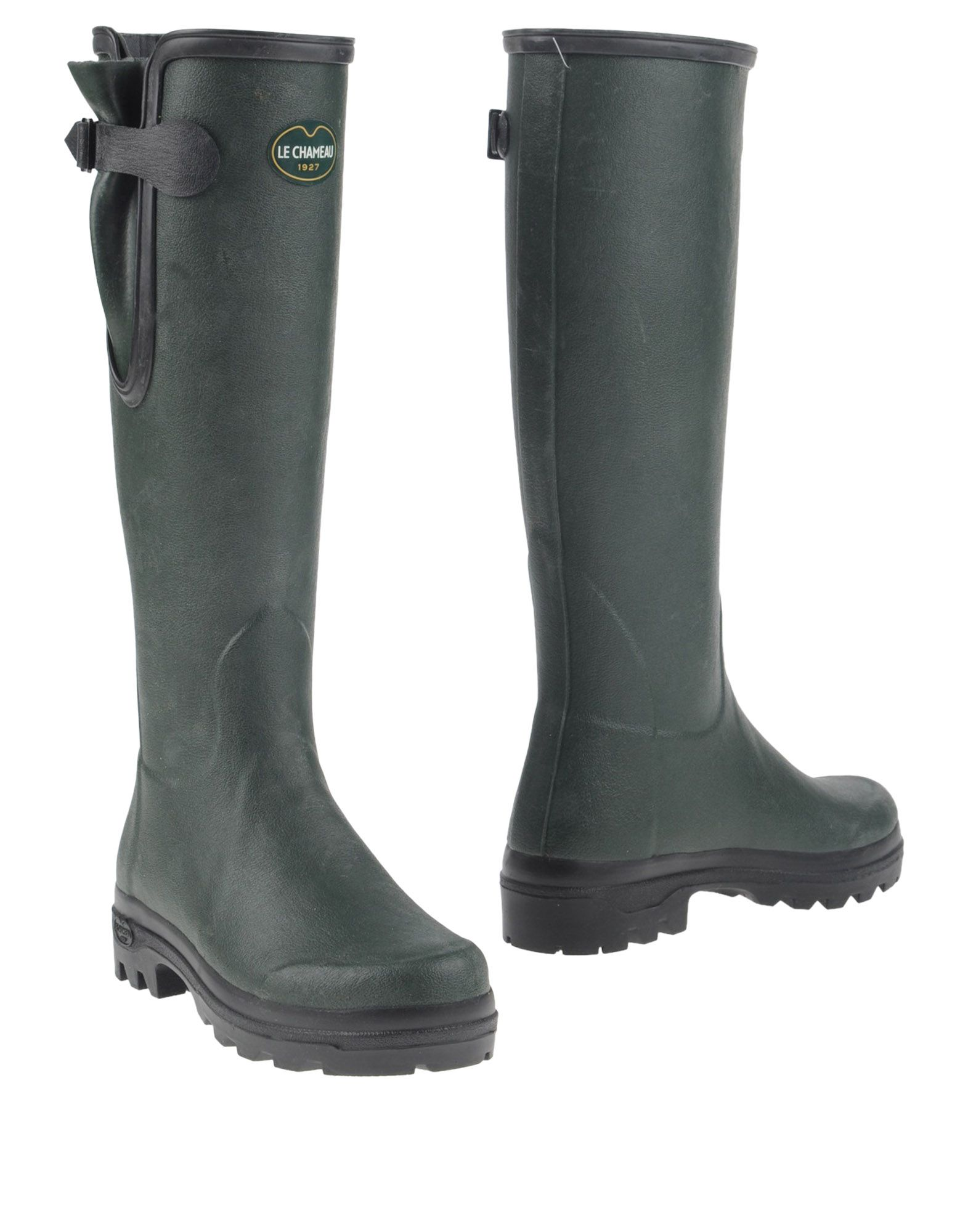 LE CHAMEAU Сапоги le royal кружева моды на высоких каблуках непромокаемые сапоги воды обувь g003 белый 39 ярдов