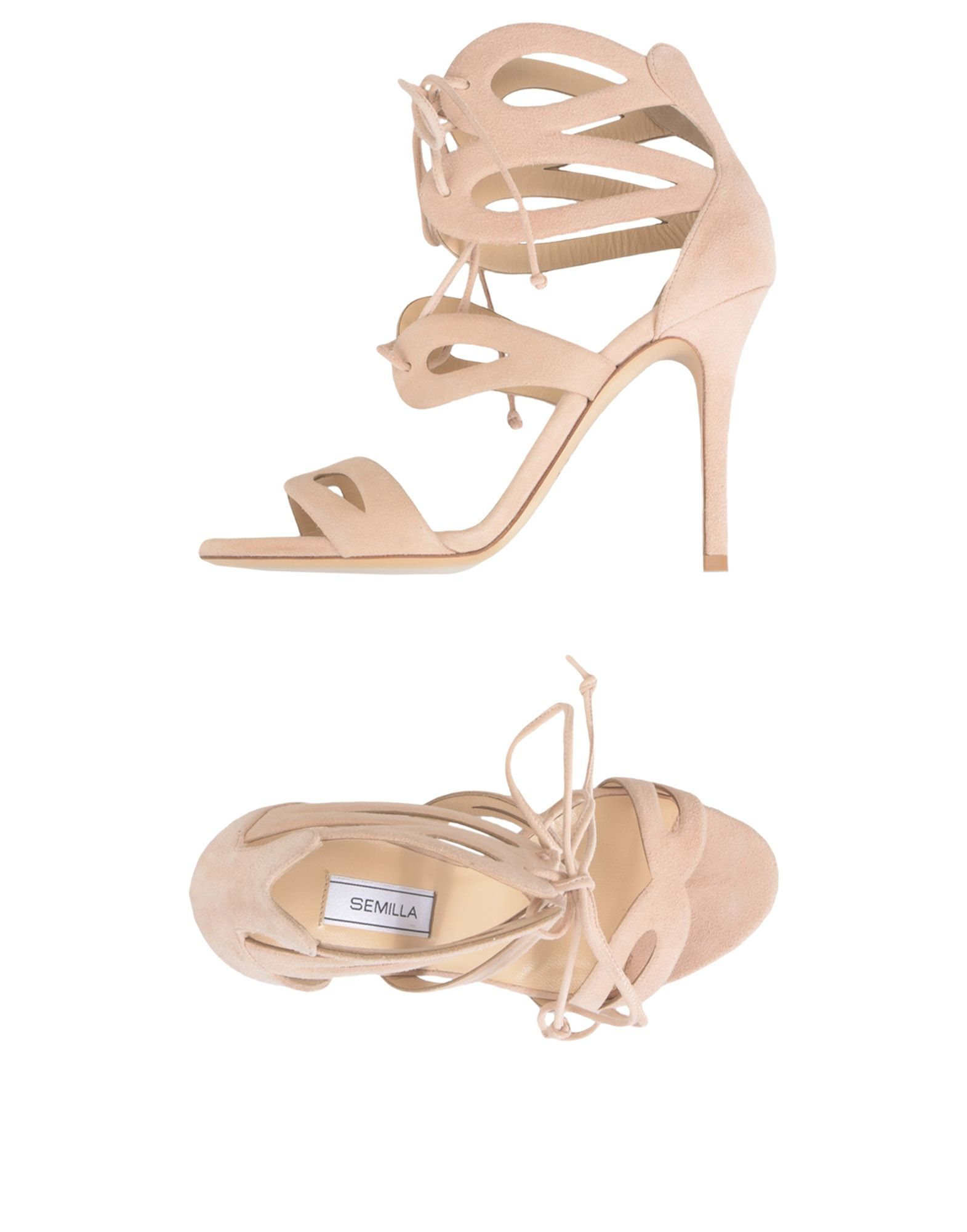 SEMILLA Sandals in Pale Pink
