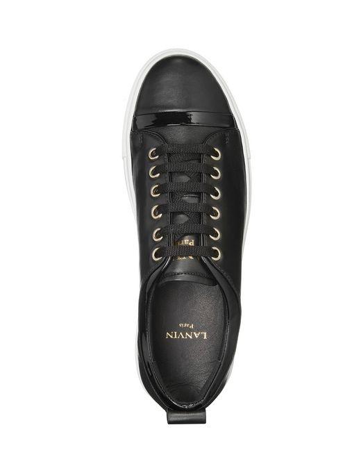 lanvin nappa leather sneaker women