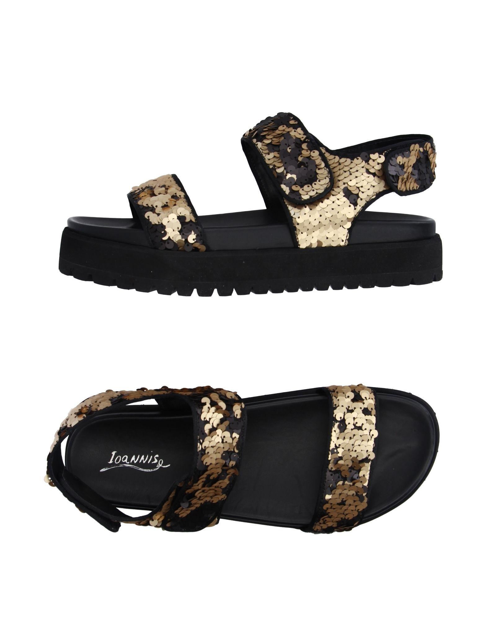 IOANNIS Sandals in Gold