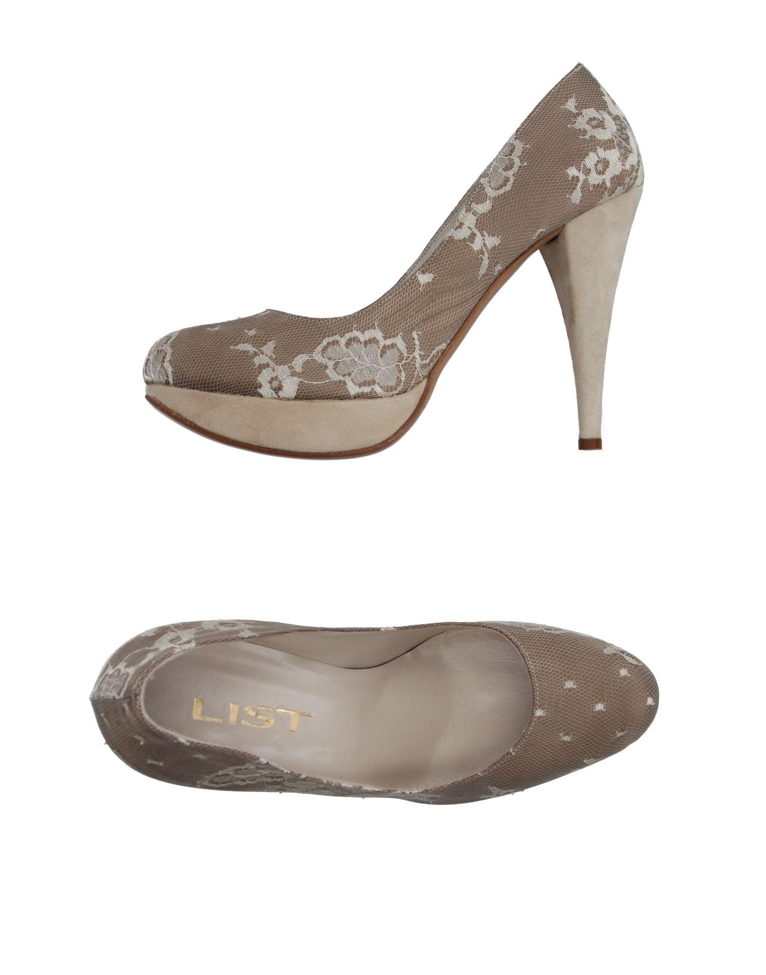 LIST Туфли цены онлайн