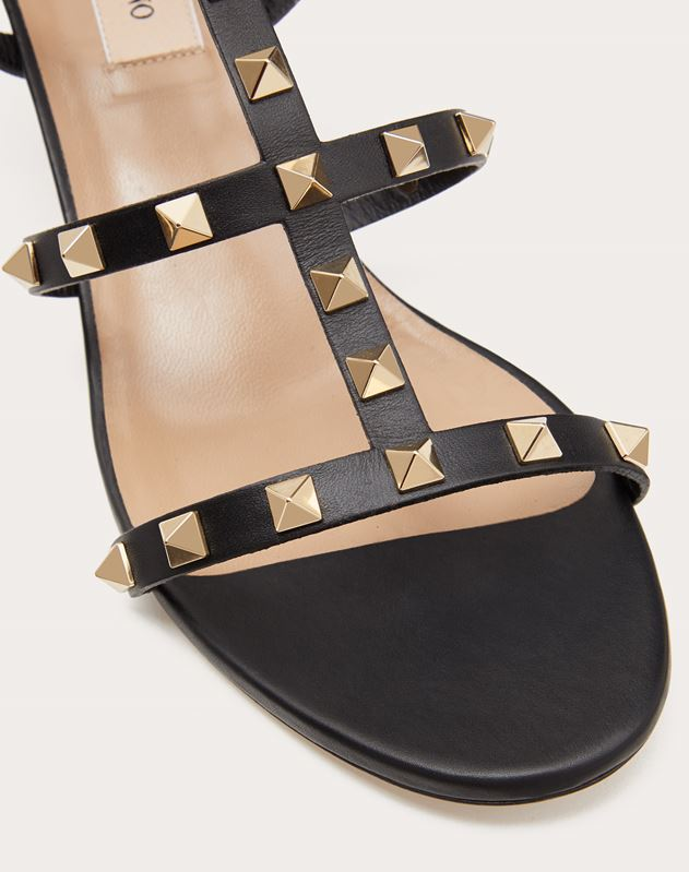 Rockstud caged Sandal 60mm