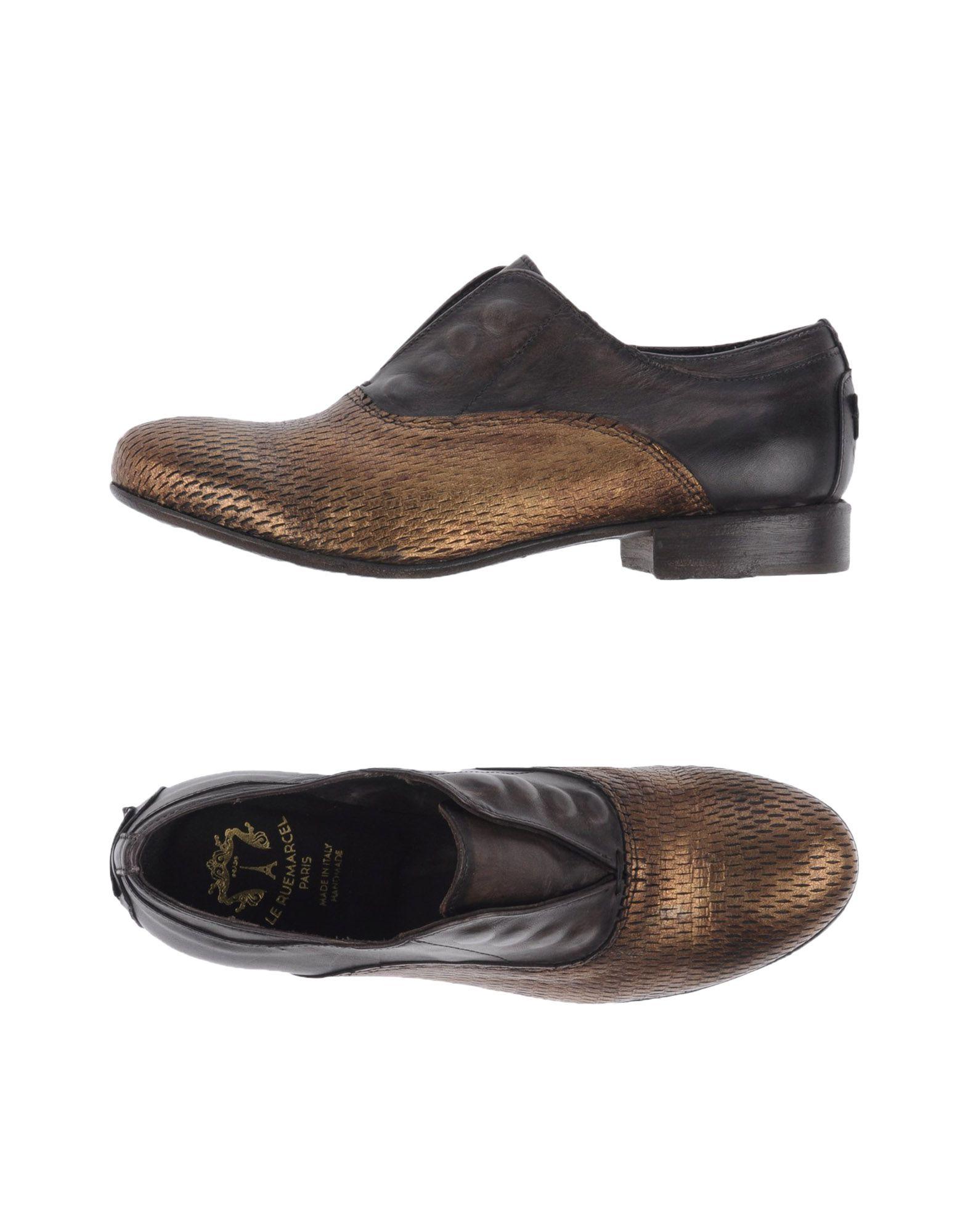 LE RUEMARCEL Loafers in Bronze