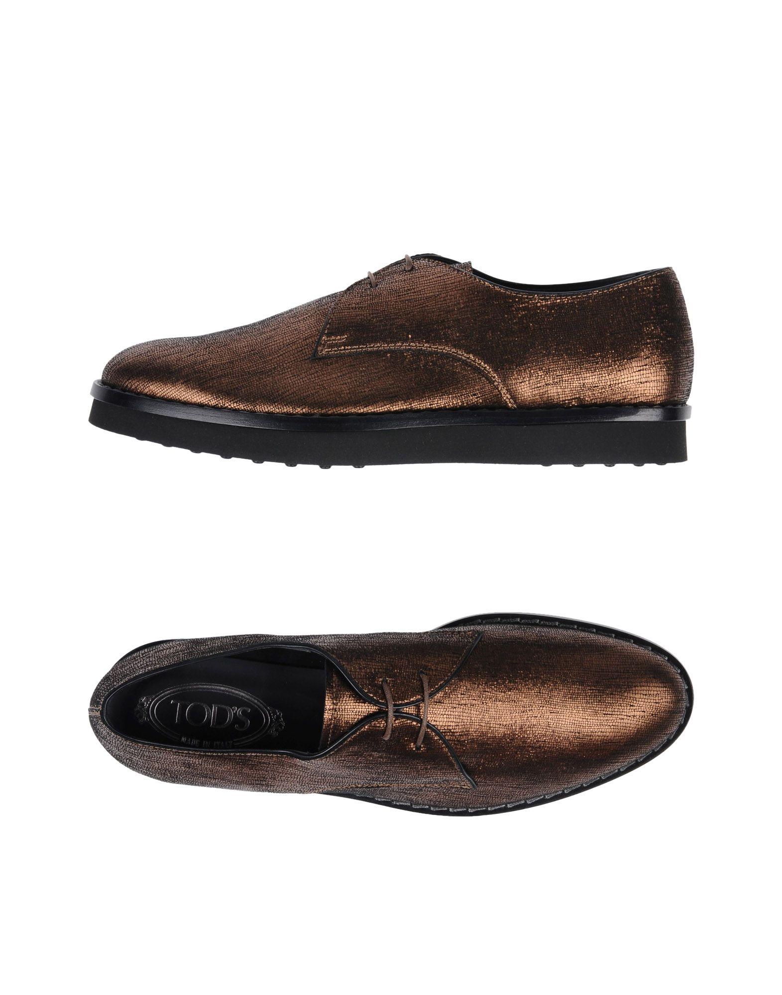 TOD'S Обувь на шнурках платья с принтами