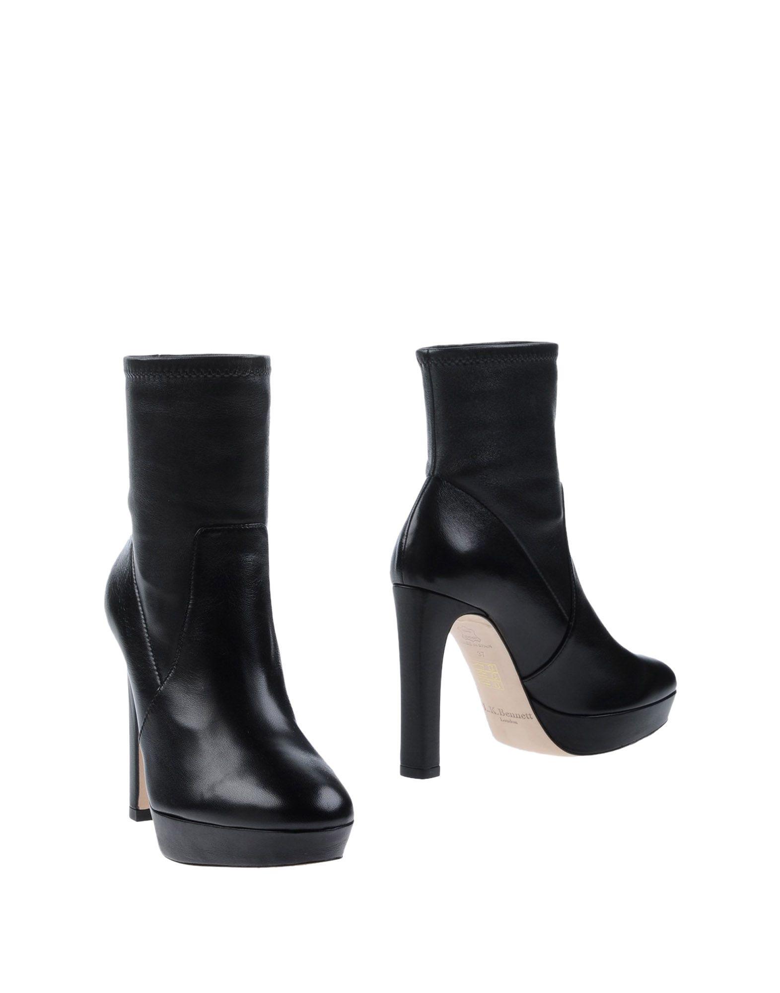 L.K. BENNETT Полусапоги и высокие ботинки цены онлайн