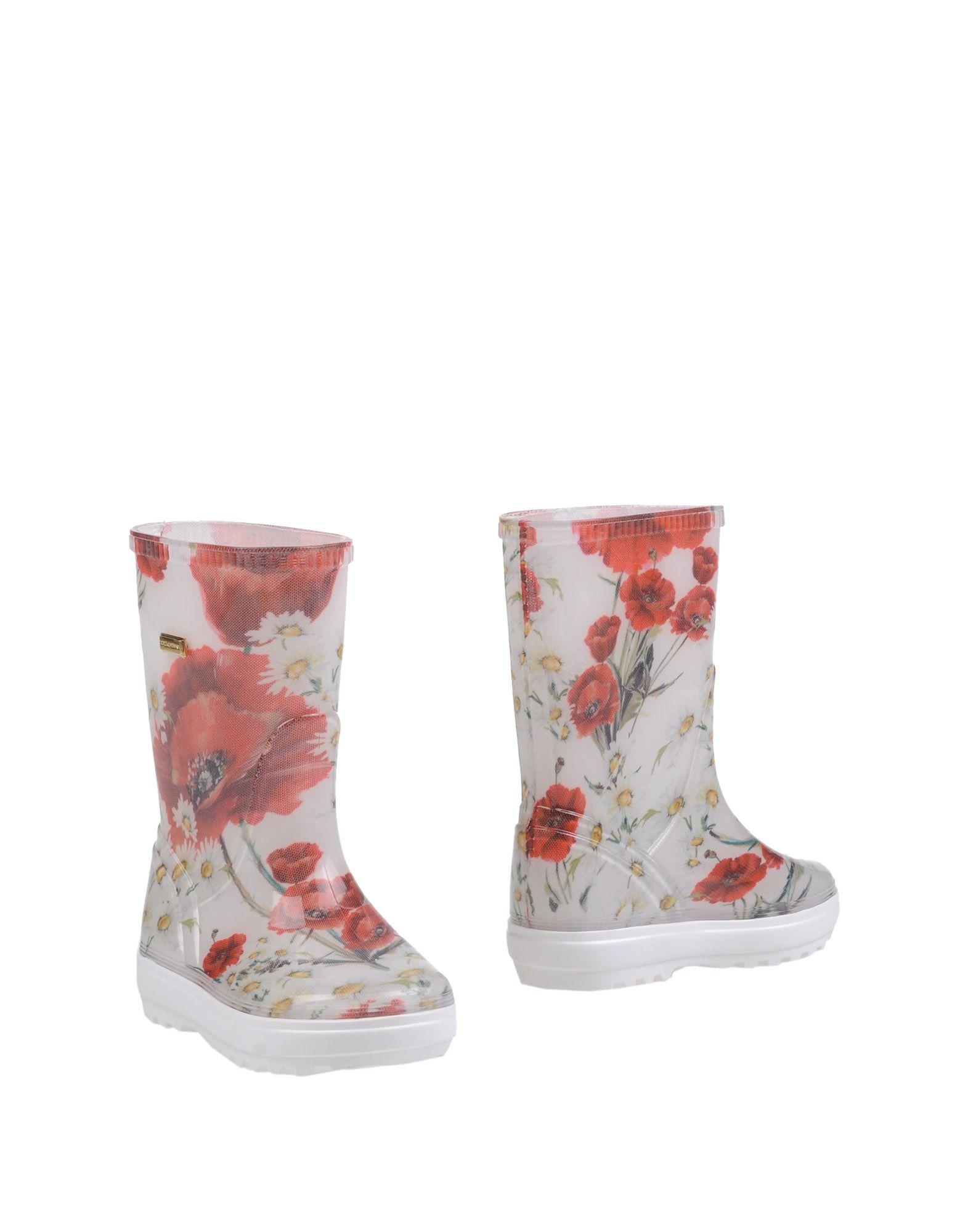 DOLCE & GABBANA Сапоги le royal кружева моды на высоких каблуках непромокаемые сапоги воды обувь g003 белый 39 ярдов