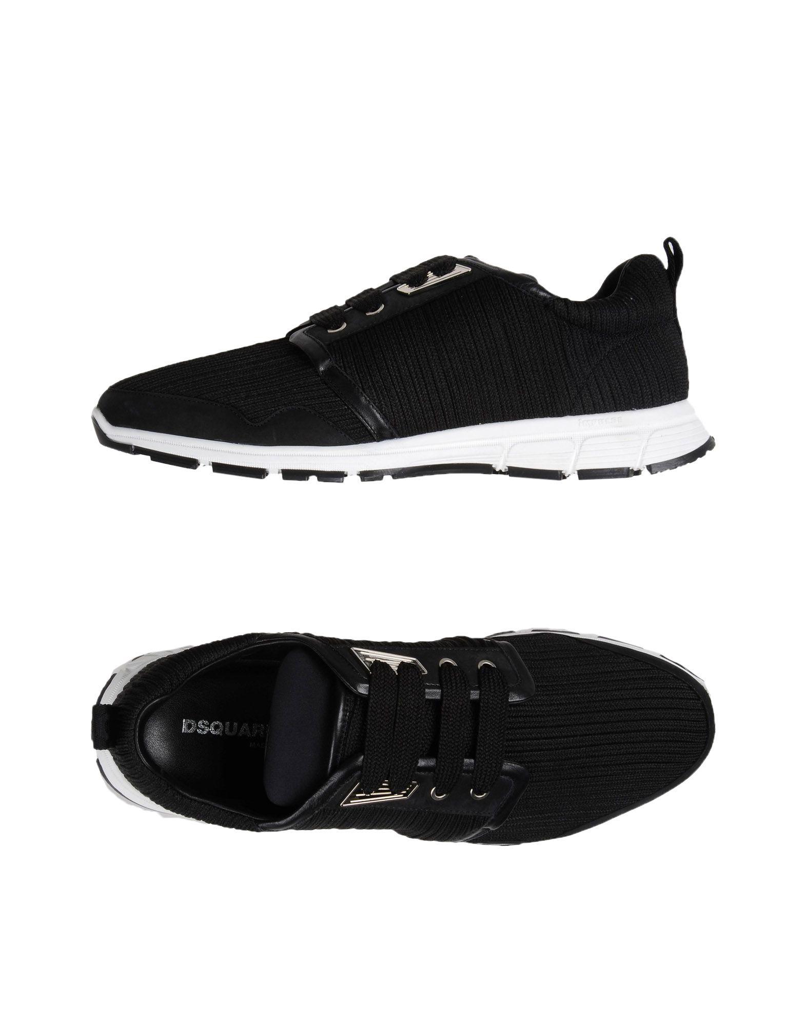 DSQUARED2 Низкие кеды и кроссовки цены онлайн