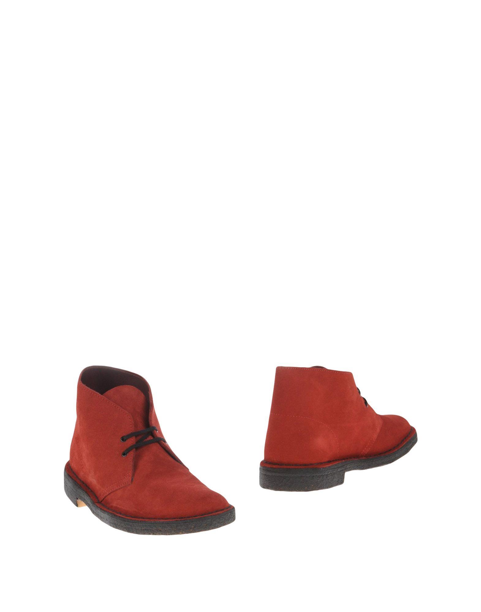 CLARKS ORIGINALS Полусапоги и высокие ботинки кофта ewa klucze цвет розовый