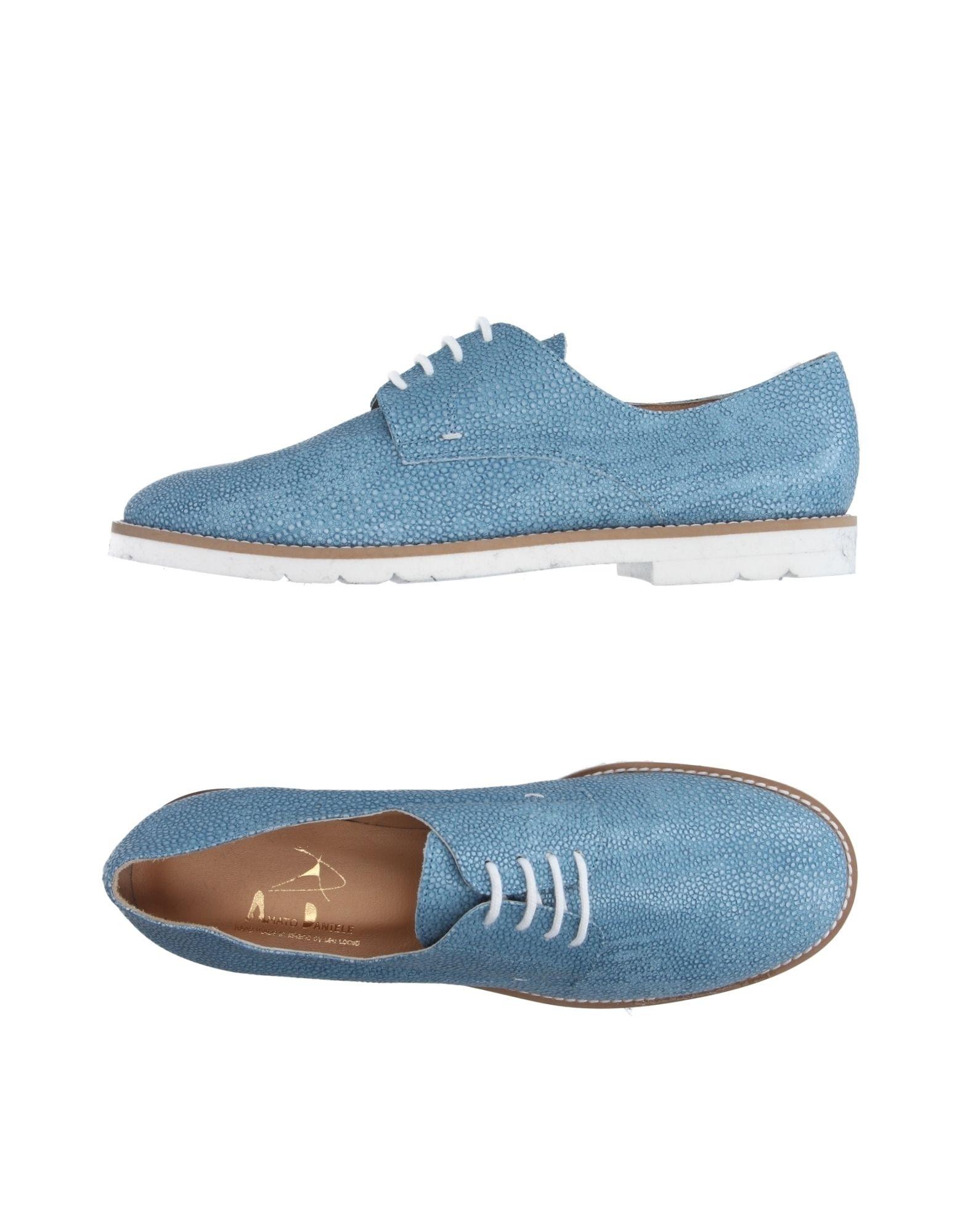 AMATO DANIELE Обувь на шнурках цены онлайн
