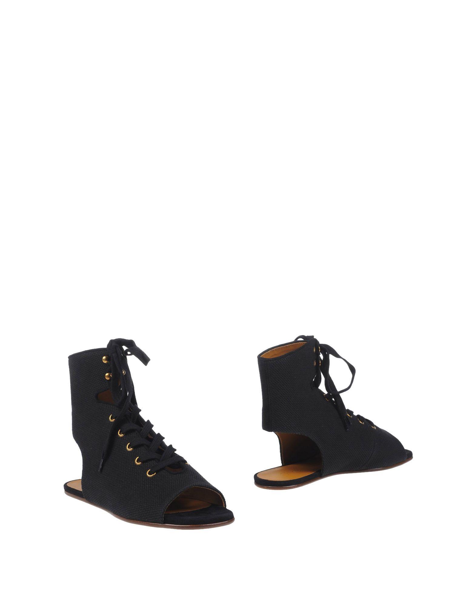 CHLOÉ Полусапоги и высокие ботинки