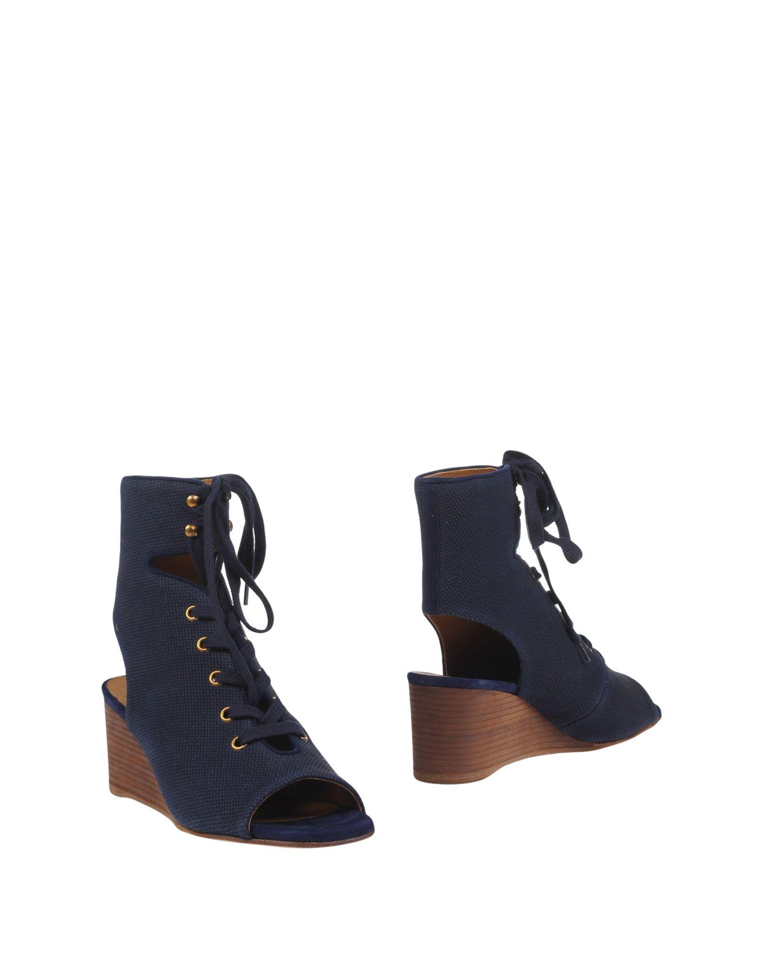 CHLOÉ Полусапоги и высокие ботинки grey mer полусапоги и высокие ботинки