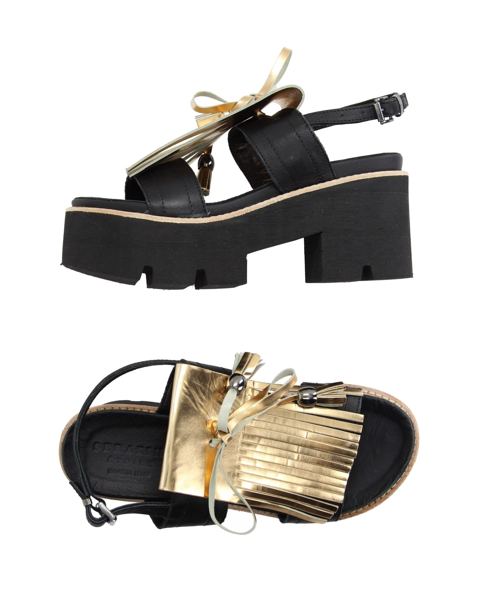 SERAFINI ETOILE Sandals in Black