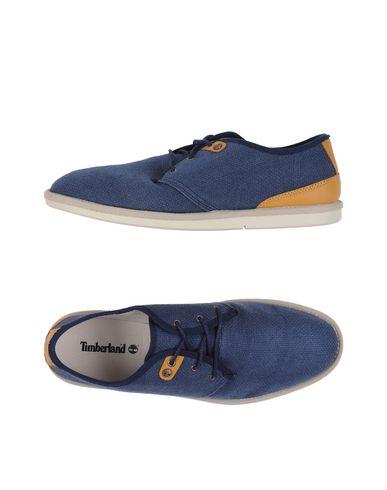 TIMBERLAND Chaussures à lacets homme. logo, uni, pointe arrondie, intérieur en tissu, semelle en caoutchouc, sans talons, contient des p