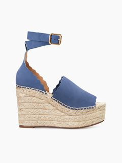 Lauren wedge espadrille